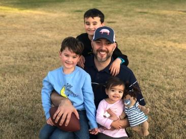 Doug and the kids